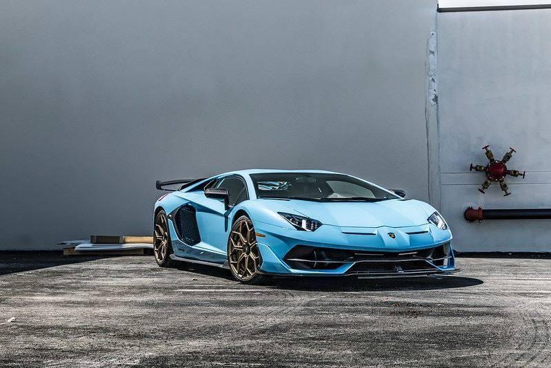 2019 Lamborghini Aventador for sale at EURO STABLE in Miami FL
