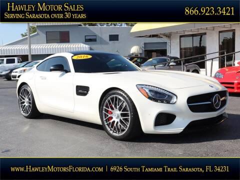 2016 Mercedes-Benz AMG GT for sale at Hawley Motor Sales in Sarasota FL