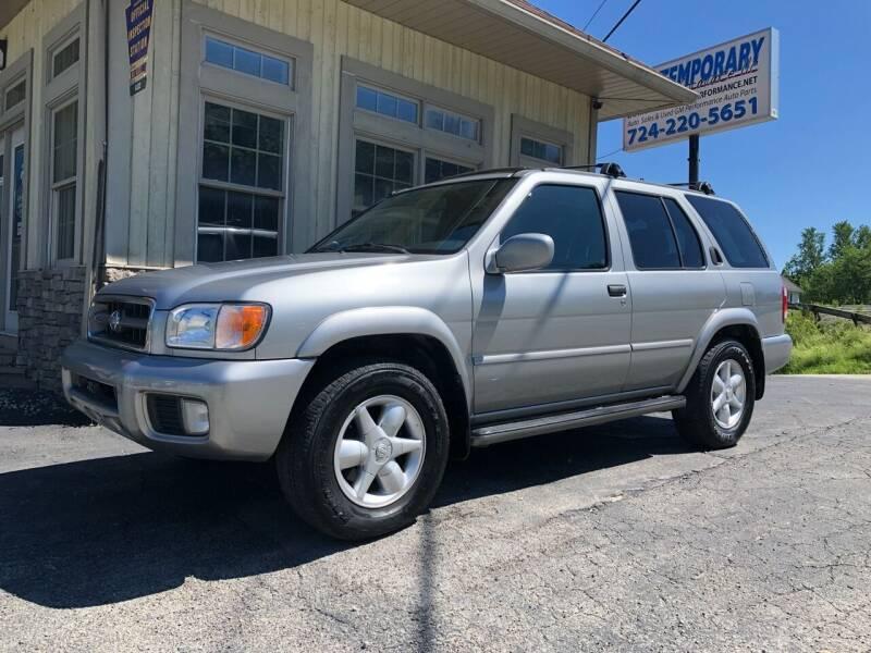 2001 Nissan Pathfinder for sale in Alverton, PA