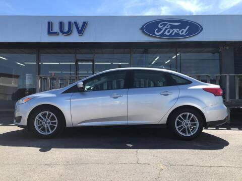 2018 Ford Focus for sale at Luv Motor Company in Roland OK
