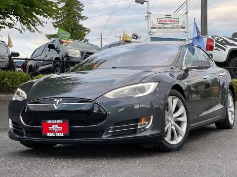 2015 Tesla Model S for sale at Real Deal Cars in Everett WA