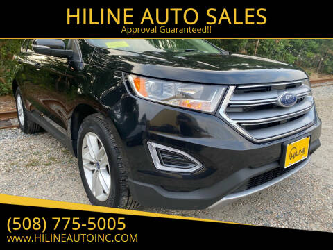 2015 Ford Edge for sale at HILINE AUTO SALES in Hyannis MA