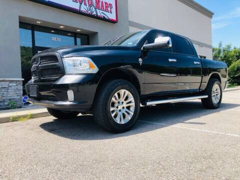 2014 RAM Ram Pickup 1500 for sale at ALL AMERICAN AUTO MART in Edwardsville KS