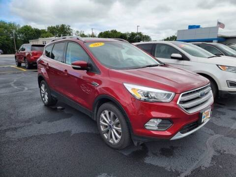 2017 Ford Escape for sale at Frenchie's Chevrolet and Selects in Massena NY