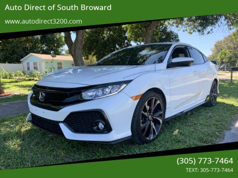 2019 Honda Civic for sale at Auto Direct of South Broward in Miramar FL