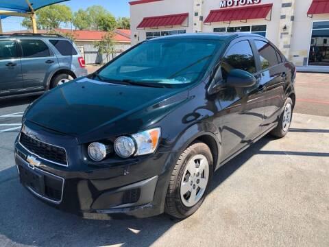2015 Chevrolet Sonic for sale at Gold Star Motors Inc. in San Antonio TX