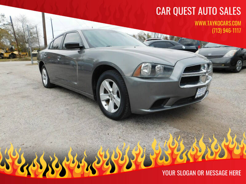 2011 Dodge Charger for sale at CAR QUEST AUTO SALES in Houston TX