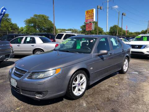 2007 Saab 9-5 for sale at RJ AUTO SALES in Detroit MI