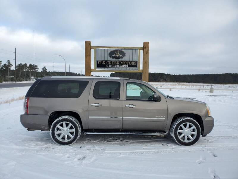 2011 GMC Yukon XL for sale at Elk Creek Motors LLC in Park Rapids MN