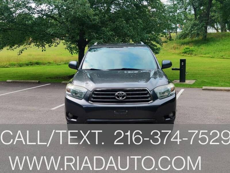 2008 Toyota Highlander for sale at Riad Auto Sales in Cleveland OH