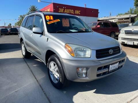2001 Toyota RAV4 for sale at 3K Auto in Escondido CA