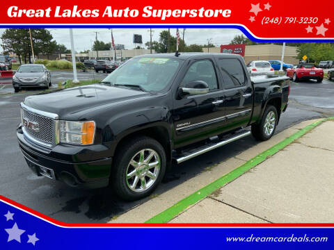 2013 GMC Sierra 1500 for sale at Great Lakes Auto Superstore in Waterford Township MI