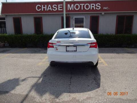 2014 Chrysler 200 for sale at Chase Motors Inc in Stafford TX