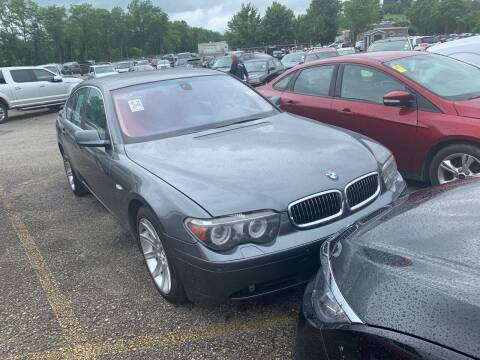 2005 BMW 7 Series for sale at Trocci's Auto Sales in West Pittsburg PA