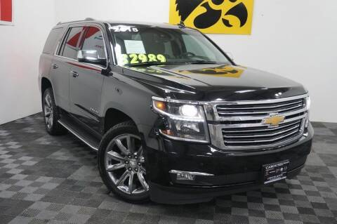 2015 Chevrolet Tahoe for sale at Carousel Auto Group in Iowa City IA