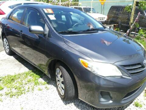 2013 Toyota Corolla for sale at Dulux Auto Sales Inc & Car Rental in Hollywood FL
