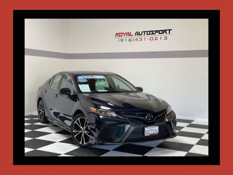 2019 Toyota Camry for sale at Royal AutoSport in Sacramento CA