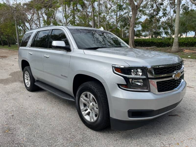 2017 Chevrolet Tahoe for sale at DELRAY AUTO MALL in Delray Beach FL