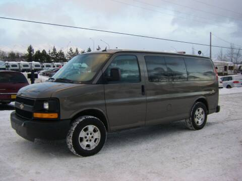 2014 Chevrolet Express Passenger for sale at NORTHWEST AUTO SALES LLC in Anchorage AK