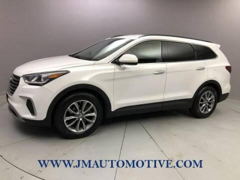 2017 Hyundai Santa Fe for sale at J & M Automotive in Naugatuck CT
