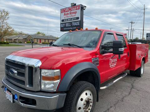 2008 Ford F-550 Super Duty for sale at Unlimited Auto Group in West Chester OH