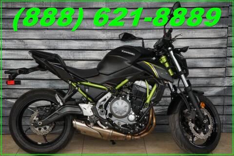 2018 Kawasaki Z650 ABS for sale at Motomaxcycles.com in Mesa AZ