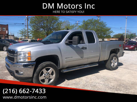 2012 Chevrolet Silverado 2500HD for sale at DM Motors Inc in Maple Heights OH