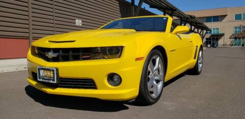 2012 Chevrolet Camaro for sale at VIking Auto Sales LLC in Salem OR