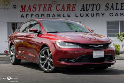2015 Chrysler 200 for sale at Mastercare Auto Sales in San Marcos CA