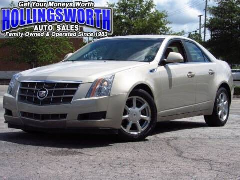2009 Cadillac CTS for sale at Hollingsworth Auto Sales in Raleigh NC