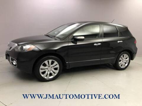 2010 Acura RDX for sale at J & M Automotive in Naugatuck CT