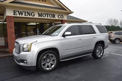 2015 GMC Yukon for sale at Ewing Motor Company in Buford GA