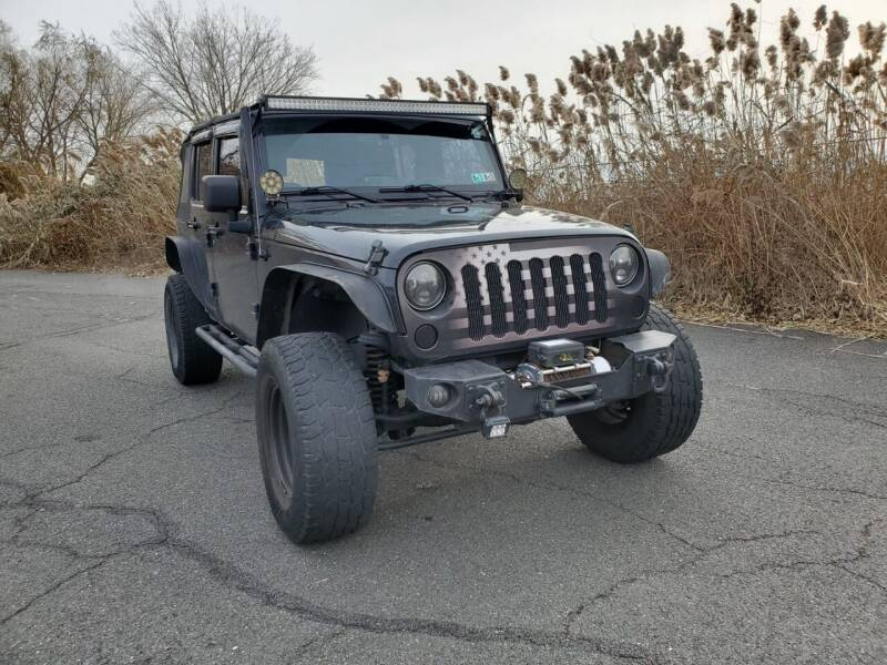 2009 Jeep Wrangler Unlimited for sale at Innovative Auto Group in Little Ferry NJ