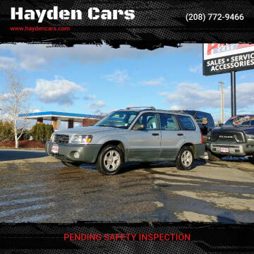 2005 Subaru Forester for sale at Hayden Cars in Coeur D Alene ID