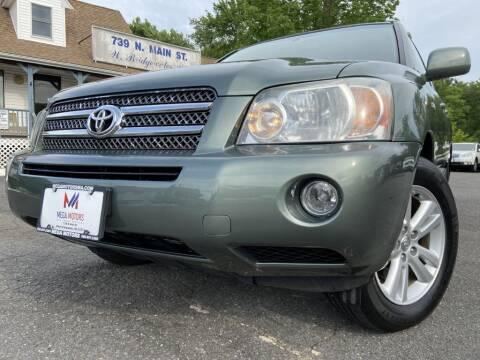 2007 Toyota Highlander Hybrid for sale at Mega Motors in West Bridgewater MA