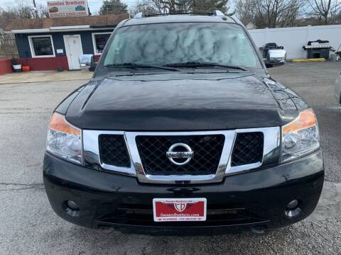 2012 Nissan Armada for sale at Fuentes Brothers Auto Sales in Jessup MD