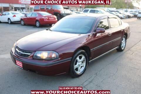 2000 Chevrolet Impala for sale at Your Choice Autos - Waukegan in Waukegan IL
