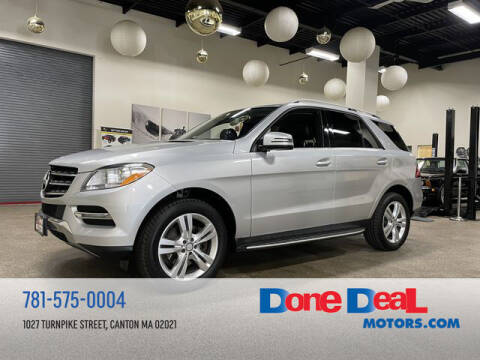 2014 Mercedes-Benz M-Class for sale at DONE DEAL MOTORS in Canton MA