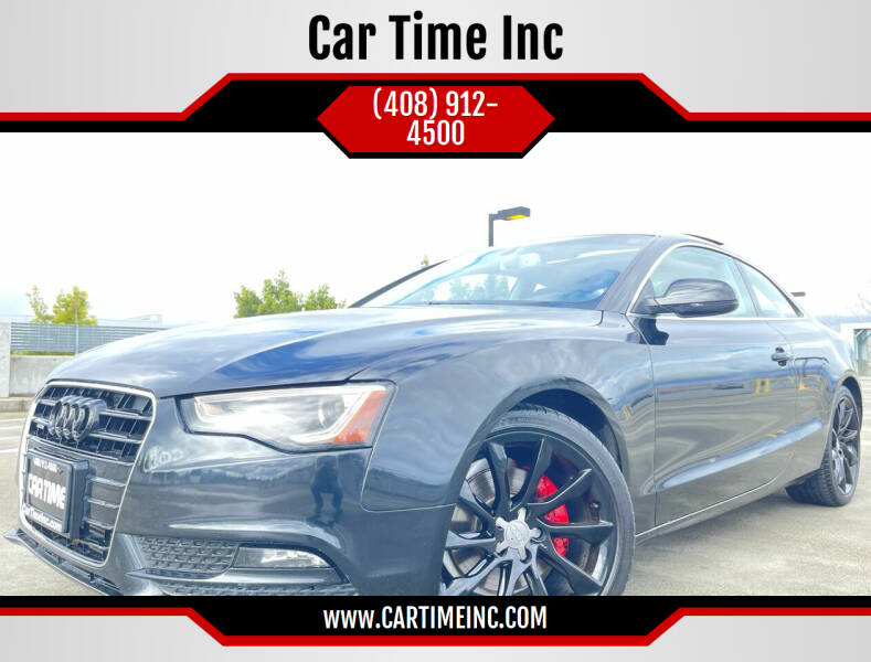 2013 Audi A5 for sale at Car Time Inc in San Jose CA