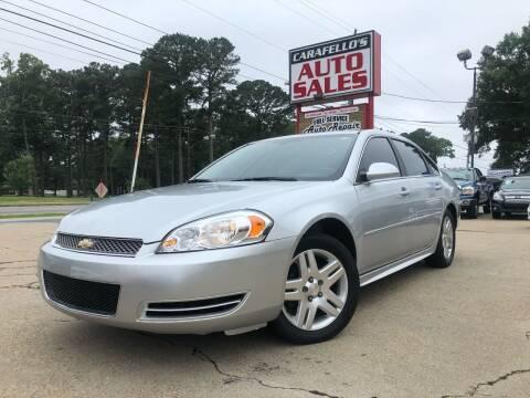 2013 Chevrolet Impala for sale at Carafello's Auto Sales in Norfolk VA