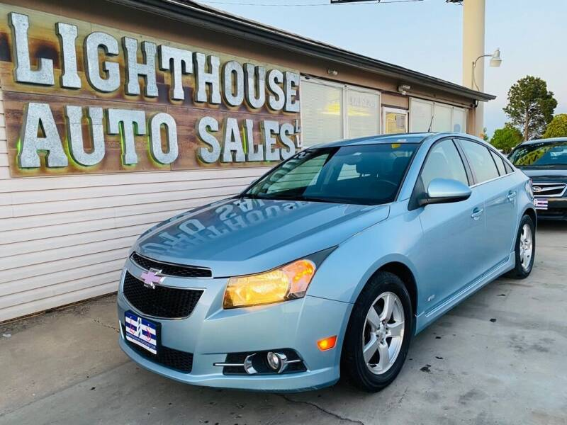 2012 Chevrolet Cruze for sale at Lighthouse Auto Sales LLC in Grand Junction CO