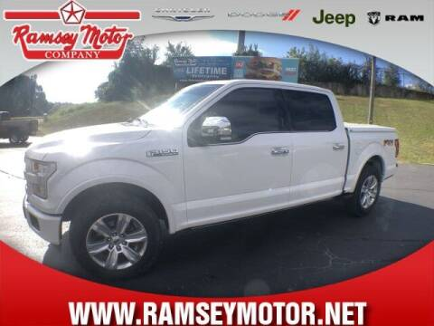 2015 Ford F-150 for sale at RAMSEY MOTOR CO in Harrison AR