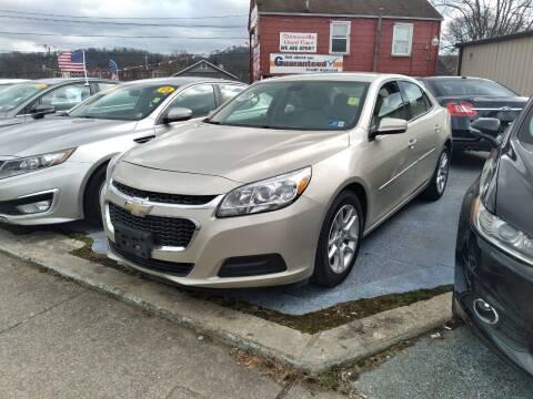 2014 Chevrolet Malibu for sale at Sissonville Used Cars in Charleston WV