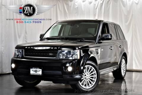 2010 Land Rover Range Rover Sport for sale at ZONE MOTORS in Addison IL