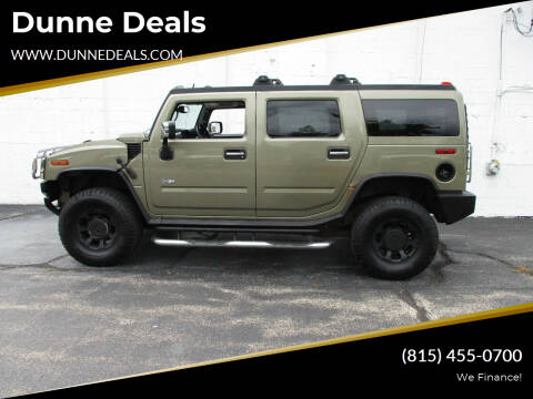 2005 HUMMER H2 for sale at Dunne Deals in Crystal Lake IL