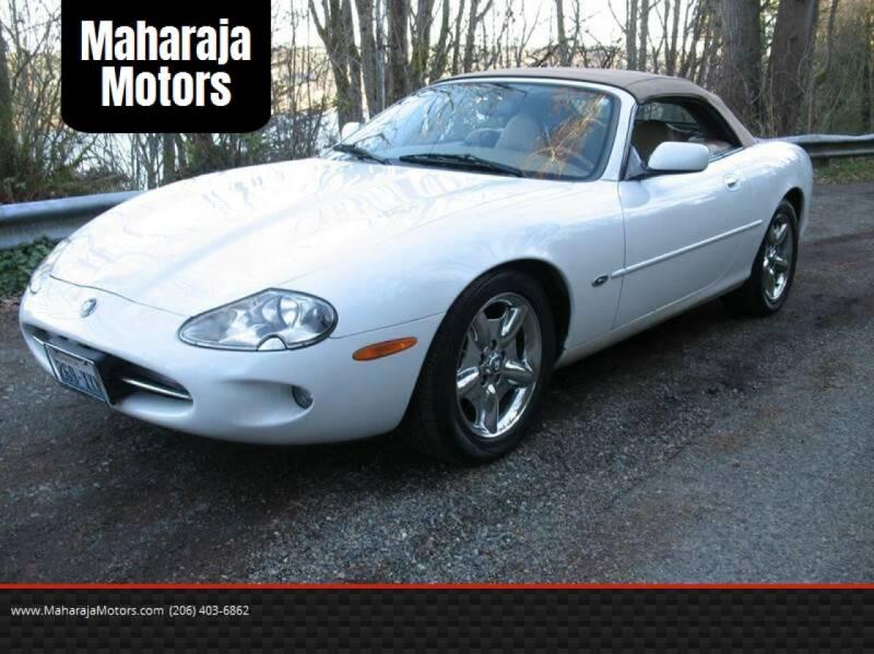 1997 Jaguar XK-Series for sale at Maharaja Motors in Seattle WA