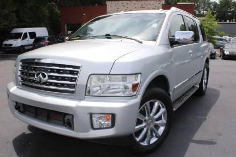 2010 Infiniti QX56 for sale at Atlanta Unique Auto Sales in Norcross GA