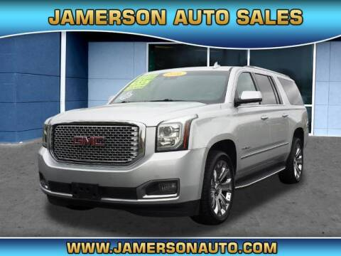 2016 GMC Yukon XL for sale at Jamerson Auto Sales in Anderson IN