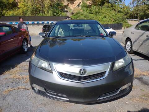 2012 Acura TL for sale at Riverside Auto Sales in Saint Albans WV