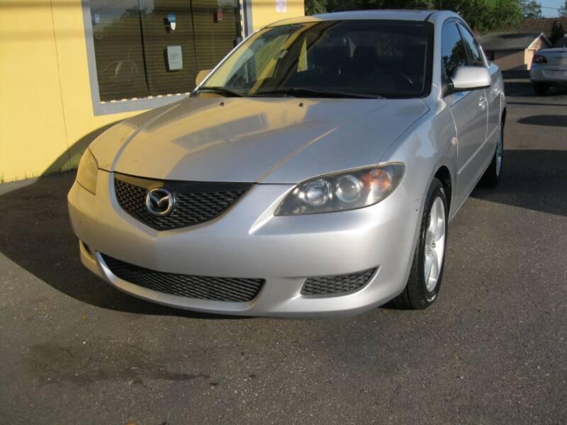 2006 Mazda MAZDA3 for sale at PARK AUTOPLAZA in Pinellas Park FL